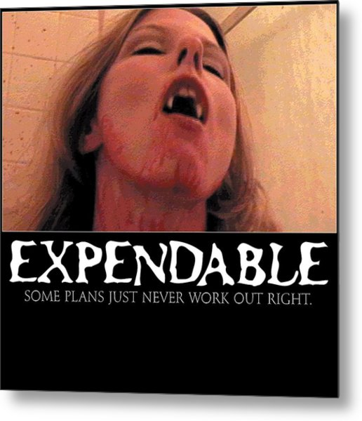 Expendable 8 Metal Print