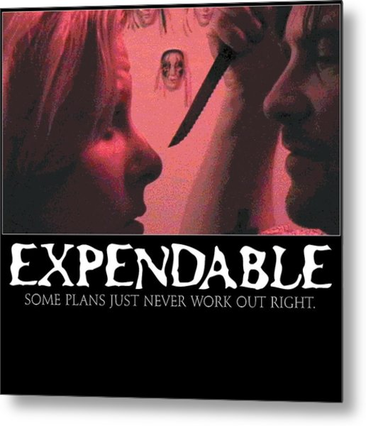 Expendable 9 Metal Print