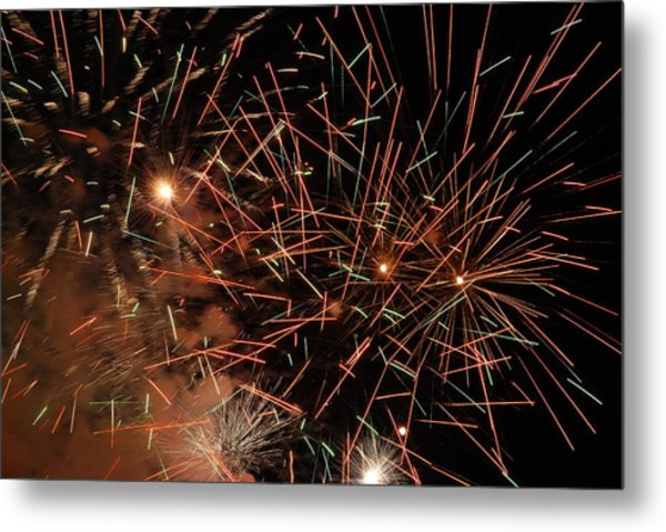 Explosion Metal Print by Clay Peters Photography