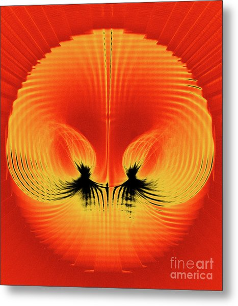 Explosive Eruption Metal Print