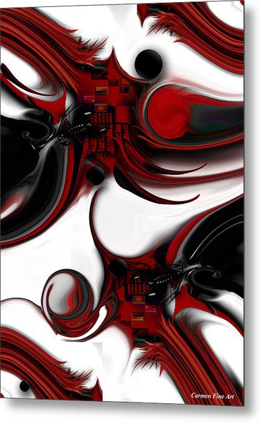 Expression And Creation Metal Print