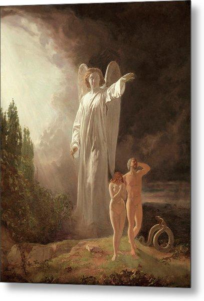 Expulsion Of Adam And Eve Metal Print
