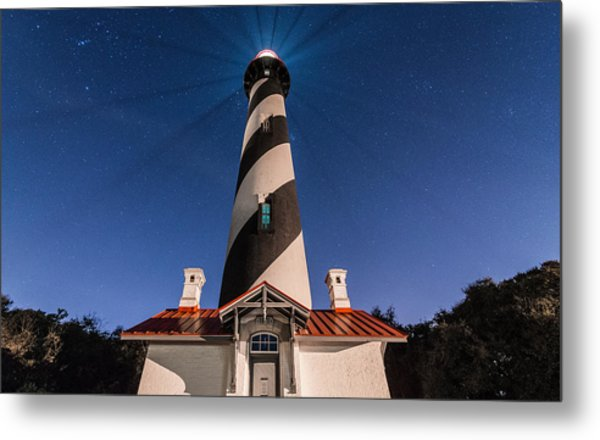 Extreme Night Light Metal Print