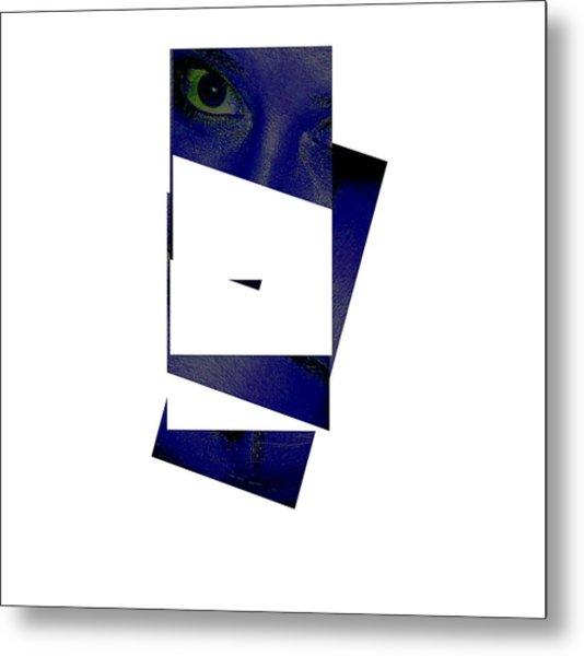 Eye Abstract Metal Print by Debbie May