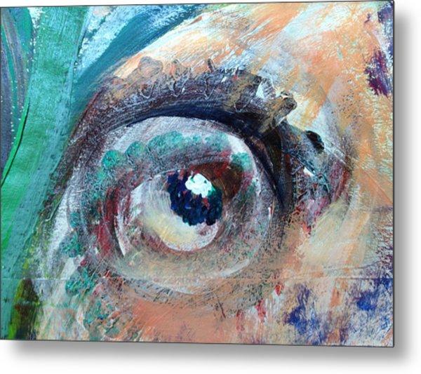 Eye Go Slow Metal Print
