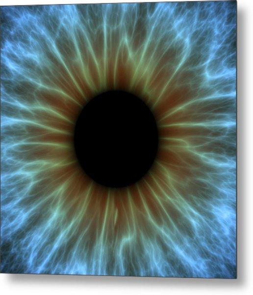 Eye, Iris Metal Print