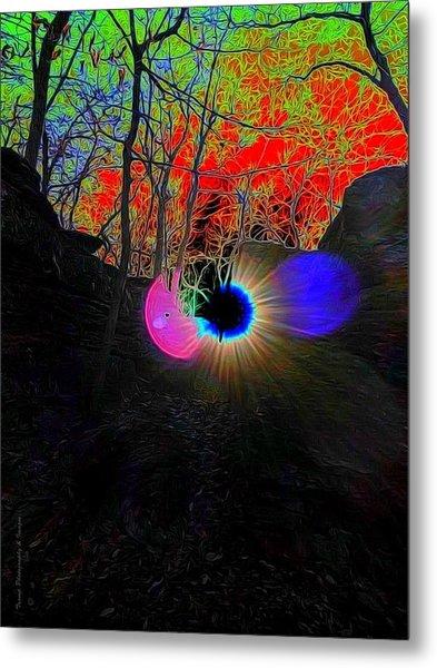 Eye Of Nature Metal Print