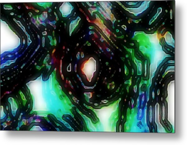 Eye Of The Cable Monster Metal Print