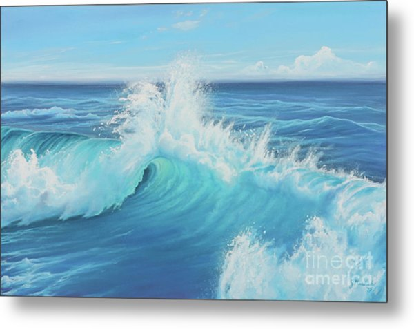Eye Of The Ocean Metal Print