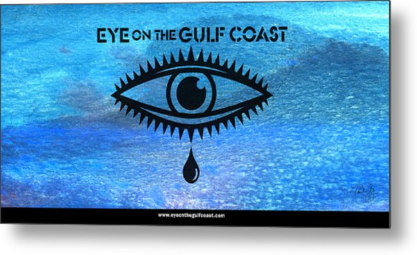 Eye On The Gulf Coast Metal Print