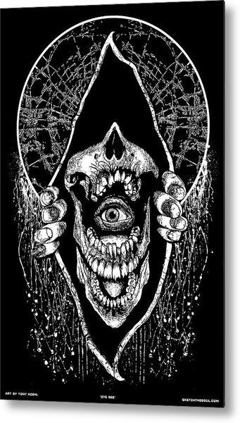 Eye See Metal Print