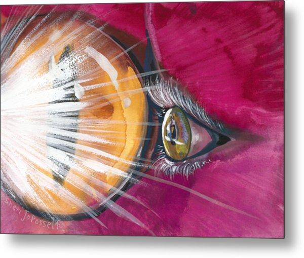 Eyelights Metal Print