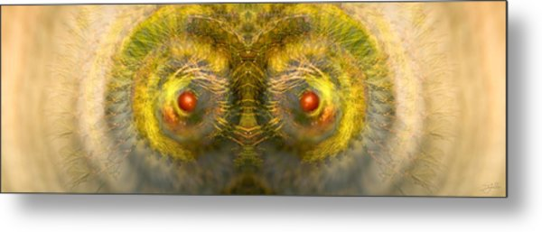 Eyes Of The Garden-1 Metal Print