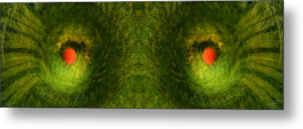 Eyes Of The Garden-2 Metal Print