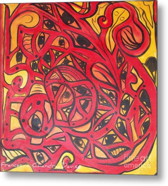 Eyes Of Truth Always Watching Metal Print by Sacred  Muse