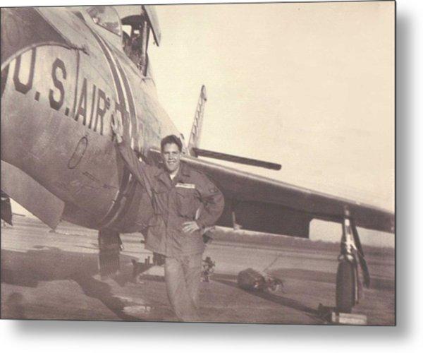 F-84f Thunderjet 1955 Metal Print