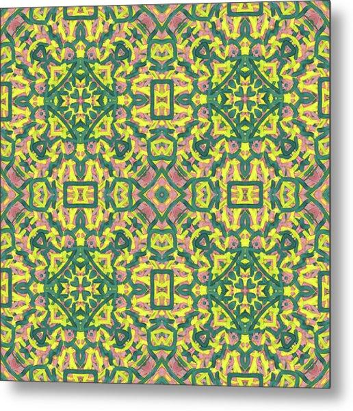 F R I - Multi Pattern Metal Print