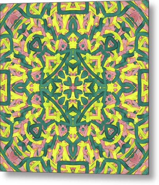 F R I - Pattern Metal Print