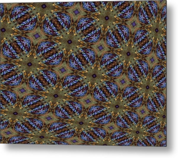 Fabric Fantacy Metal Print by Ricky Kendall