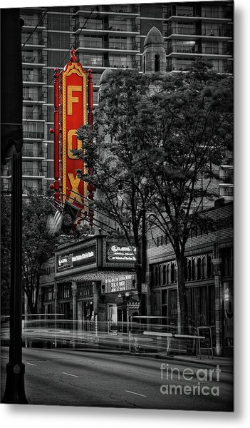 Fabulous Fox Theater Metal Print