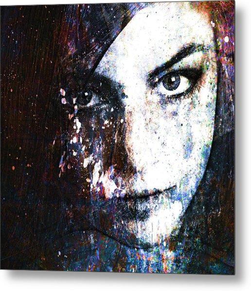 Face In A Dream Metal Print