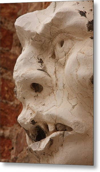 Face On San Trovaso Bell Tower Metal Print by Michael Henderson