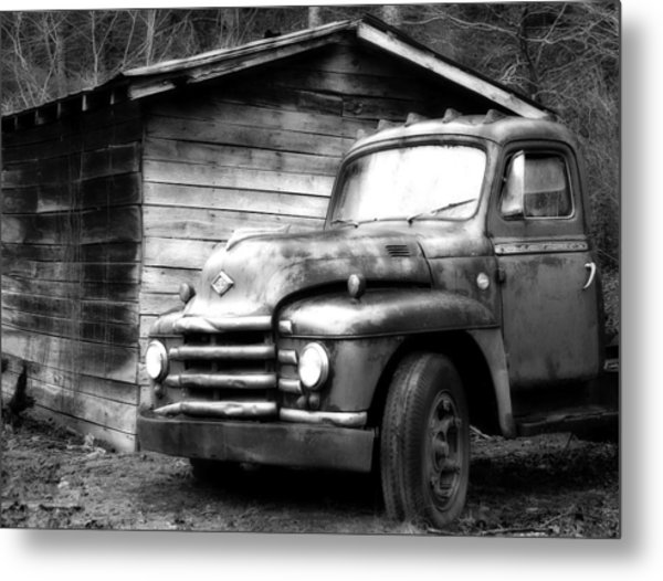 Faded Glory Metal Print