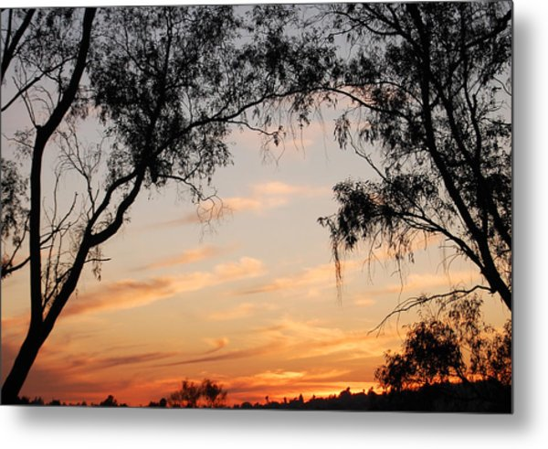 Faded Technicolor Metal Print by Jean Booth