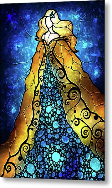 Fair Ophelia Metal Print