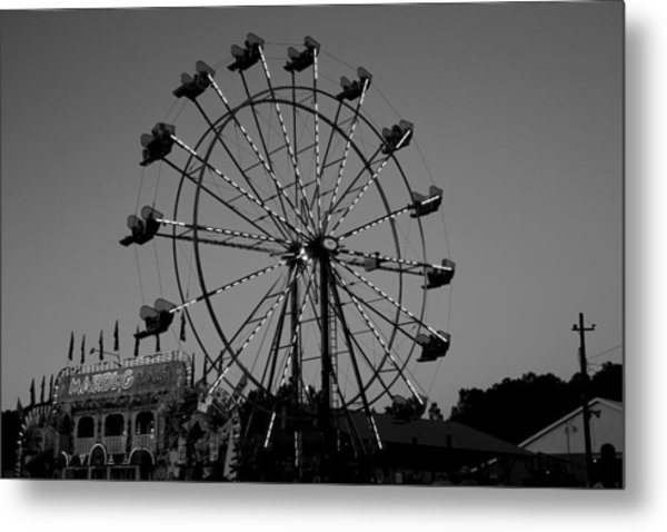 Fair Time Fun Metal Print