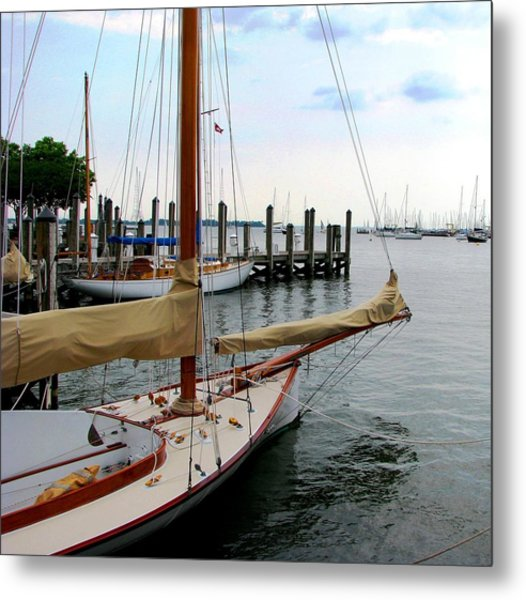 Fair Weather Annapolis  Metal Print