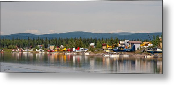 Fairbanks Float Pond  Metal Print