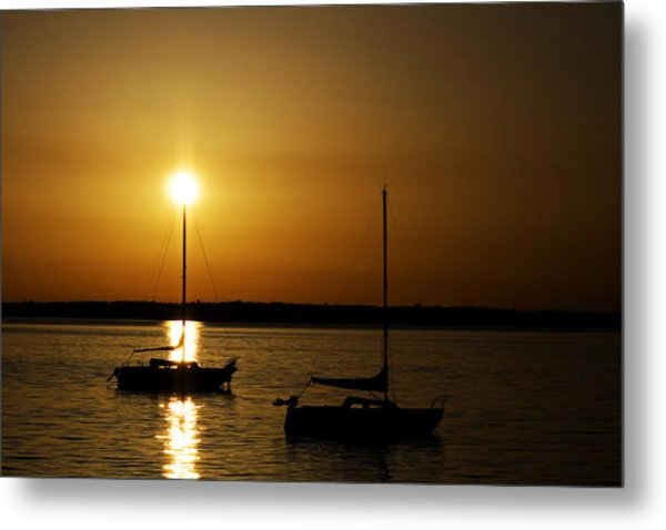 Fairhaven Star Metal Print