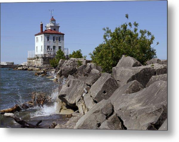 Fairport Harbor Lighthouse Metal Print