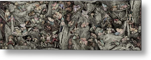 Fairy City Metal Print