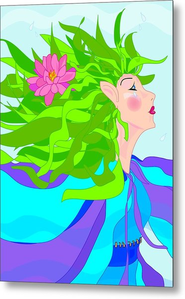 Fairy Girl Metal Print by Susan Nelson
