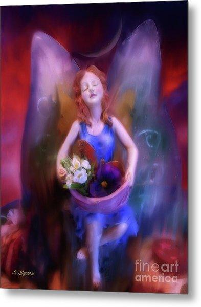 Fairy Of The Garden Metal Print