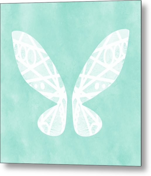 Fairy Wings- Art By Linda Woods Metal Print