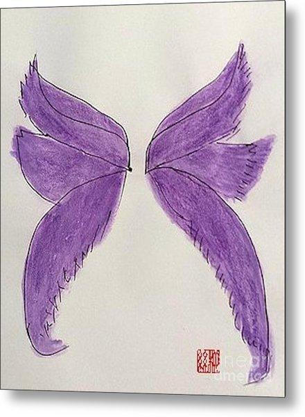 Fairy Wings For Sale Metal Print