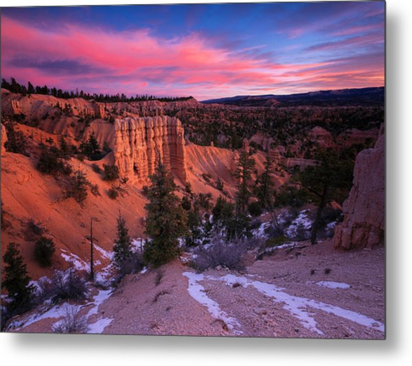 Metal Print featuring the photograph Fairyland Loop Trail by Edgars Erglis