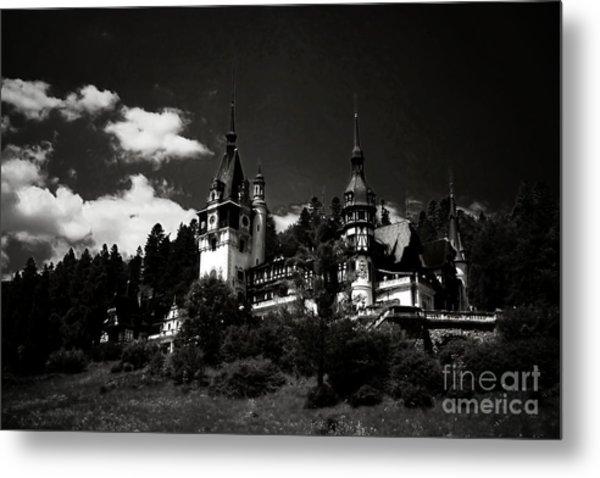 Fairytale Castle Metal Print by Gabriela Insuratelu