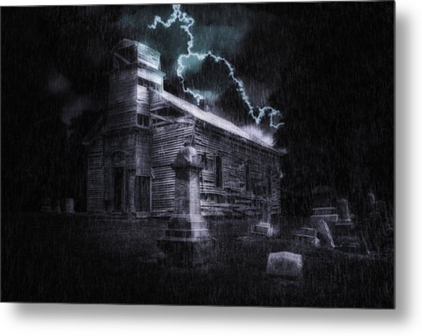 Faith And Fury Metal Print
