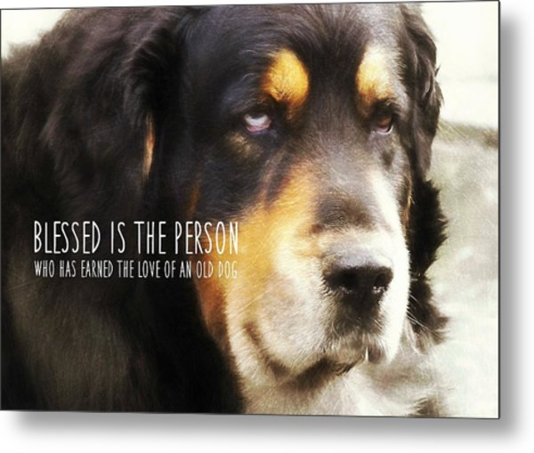 Faithful Quote Metal Print by JAMART Photography