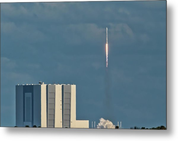 Falcon 9 Launch Metal Print