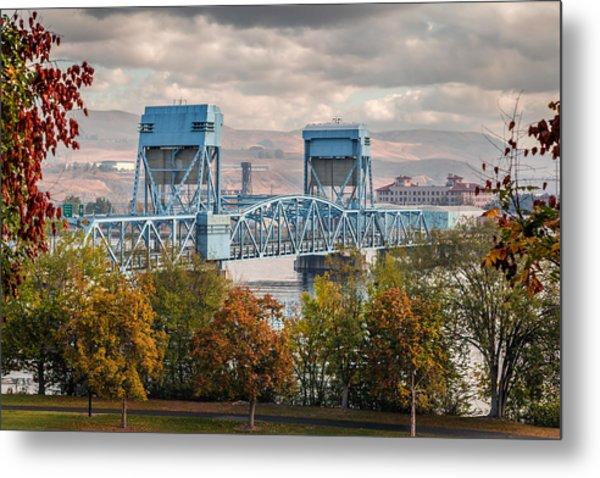 Fall 2015 Blue Bridge Metal Print