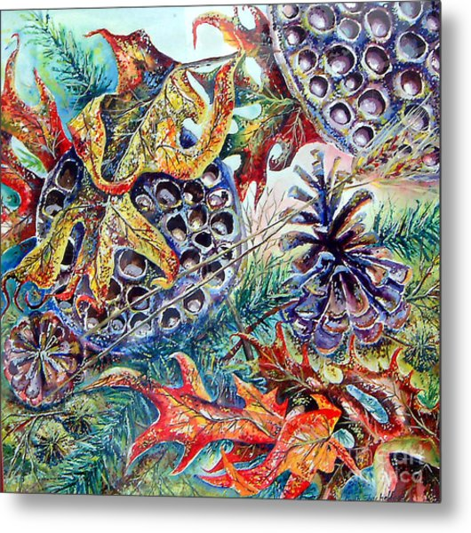 Fall Affair Metal Print