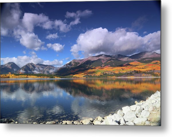 Fall At Twin Lakes Metal Print