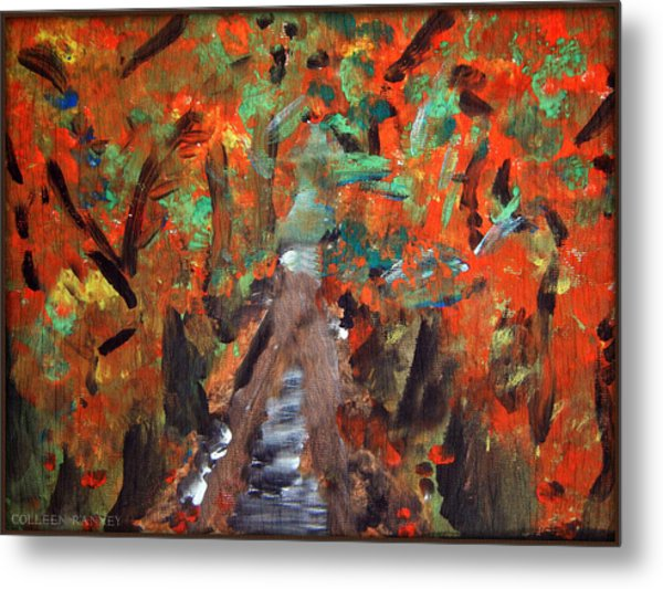 Fall By Colleen Ranney Metal Print