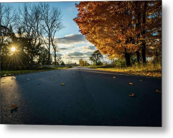 Fall Day Metal Print