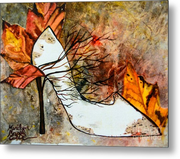 Fall In Art Metal Print